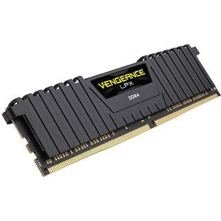 32GB Corsair Vengeance LPX schwarz DDR4-3000 DIMM CL16 Dual Kit
