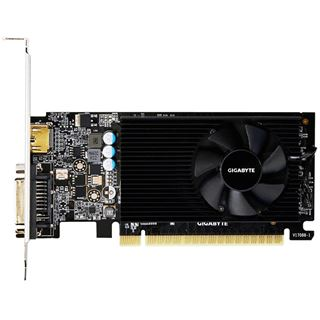 2GB Gigabyte GeForce GT 730 LP Aktiv PCIe 2.0 (Retail)