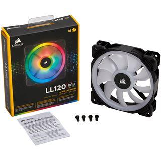 Corsair LL120 RGB 120x120x25mm 1500 U/min 24.8 dB(A) schwarz