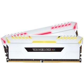 32GB Corsair Vengeance RGB weiß DDR4-3200 DIMM CL16 Dual Kit