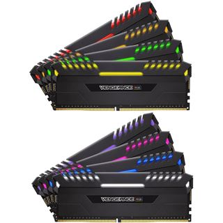 16GB Corsair Vengeance RGB schwarz DDR4-4000 DIMM CL19 Dual Kit