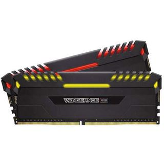 16GB Corsair Vengeance RGB schwarz DDR4-3200 DIMM CL16 Dual Kit