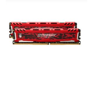 16GB Crucial Ballistix Sport LT Single Rank rot DDR4-2666 DIMM CL16