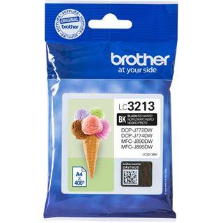 Brother Tintenpatrone LC-3213BK ca. 400 Seiten schwarz