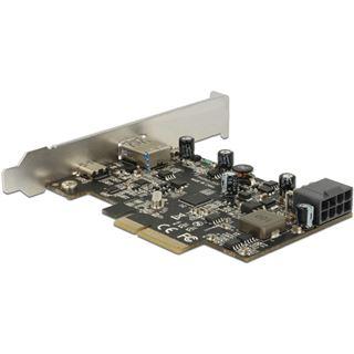 Delock PCI Expr x2 Card -> USB/C-Bu ext.(PD) + USB/A-Bu ext.