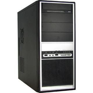 Inter-Tech Magnum AOC-01 Midi Tower ohne Netzteil schwarz