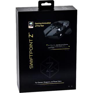 Swiftpoint Z Mouse USB schwarz (kabelgebunden)