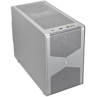 Lian Li PC-Q50 Mini-ITX ohne Netzteil silber