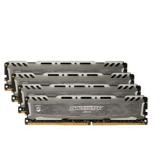 32GB Crucial Ballistix Sport LT Single Rank grau DDR4-2666 DIMM CL16