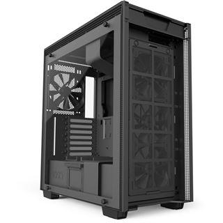 NZXT H700i mit Sichtfenster Midi Tower ohne Netzteil schwarz