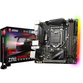 MSI Z370I GAMING PRO CARBON AC Intel Z370 So.1151 Dual Channel DDR4