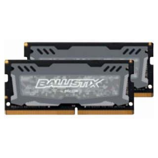 8GB Crucial Ballistix Sport LT Dual Rank grau DDR4-2666 SO-DIMM CL16