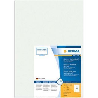 HERMA Etik. A3 Outdoor Klebefolie 297x420 mm 10 St weiß