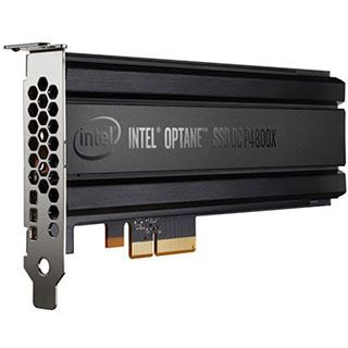 375GB Intel Optane SSD DC P4800X Add-In PCIe 3.0 x4 32Gb/s 3D XPoint