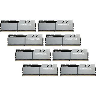 64GB G.Skill Trident Z silber/schwarz DDR4-3200 DIMM CL16 Octa Kit