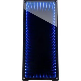 Inter-Tech M-908 mit Sichtfenster Midi Tower ohne Netzteil schwarz