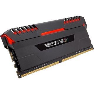 32GB Corsair Vengeance RGB schwarz DDR4-3000 DIMM CL16 Quad Kit
