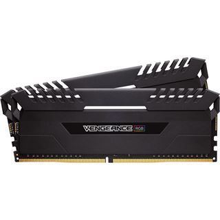 32GB Corsair Vengeance RGB schwarz DDR4-3000 DIMM CL16 Dual Kit