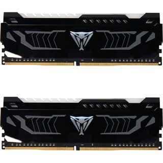 16GB Patriot Viper LED weiß DDR4-3600 DIMM CL16 Dual Kit