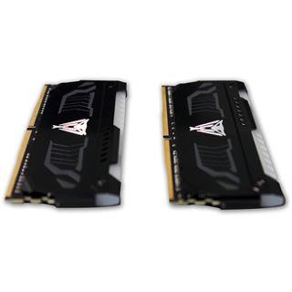 16GB Patriot Viper LED rot DDR4-3000 DIMM CL15 Dual Kit