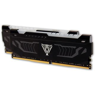 16GB Patriot Viper LED weiß DDR4-3200 DIMM CL16 Dual Kit