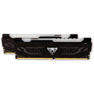 8GB Patriot Viper LED rot DDR4-3000 DIMM CL15 Dual Kit