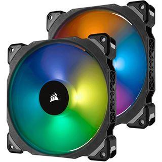 Corsair ML140 PRO RGB Twin Fan Pack with Lighting Node PRO