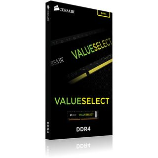 4GB Corsair Value Select DDR4-2400 DIMM CL18 Single