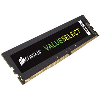 4GB Corsair Value Select DDR4-2666 DIMM CL18 Single