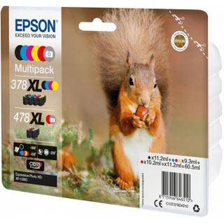 EPSON C13T379D4010 XP8500 Tinte (6) HC