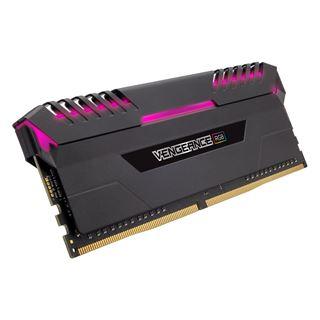 64GB Corsair Vengeance RGB schwarz DDR4-3600 DIMM CL18 Quad Kit