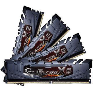 64GB G.Skill Flare X für AMD schwarz DDR4-2933 DIMM CL14 Quad Kit