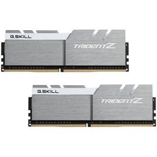32GB G.Skill Trident Z silber/weiß DDR4-3466 DIMM CL16 Dual Kit