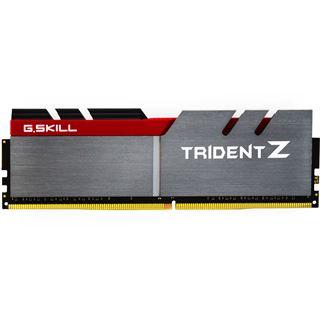 64GB G.Skill Trident Z silber/rot DDR4-3200 DIMM CL16 Quad Kit