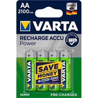 Varta Ready To Use HR6 Nickel-Metall-Hydrid AA Mignon Akku 2100 mAh