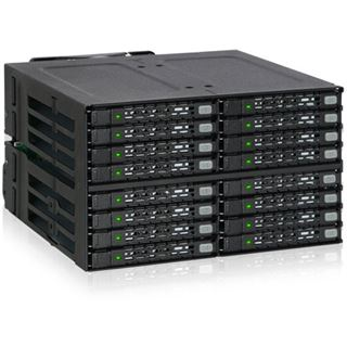 "ICY Dock Backplane 16x6,3cm SATAI-III in 2x5,25"" HDD/SSD"