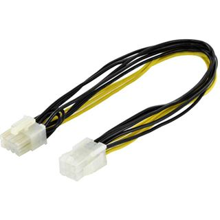 0.30m Digitus PCI Express Stromadapterkabel 6pol PCIe Buchse auf 8pol