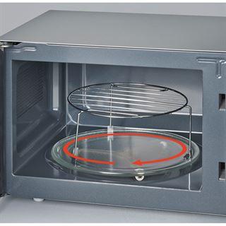 SEVERIN Mikrowelle MW 7865, Grill- und Heißluftfunktion