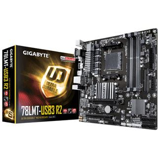 Gigabyte GA-78LMT-USB3 R2 AMD 760G So.AM3+ Dual Channel DDR3 mATX