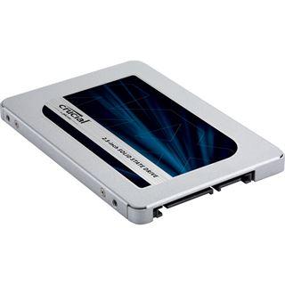 "250GB Crucial MX500 2.5"" (6.4cm) SATA 6Gb/s 3D-NAND TLC"