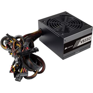 550 Watt Corsair VS Series VS550 Non-Modular 80+