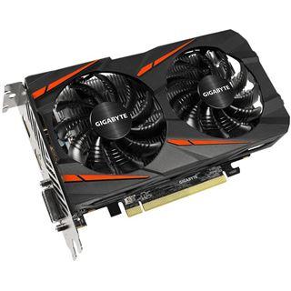 4GB Gigabyte Radeon RX 560 Gaming OC 16CU Aktiv PCIe 3.0 x16 (Retail)