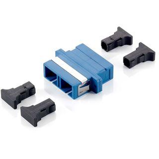 Equip LWL Verbinder SC Singlemode Duplex 12 Stk