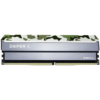 16GB G.Skill SniperX Classic Camouflage DDR4-3000 DIMM CL16 Dual Kit