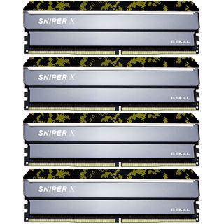 64GB G.Skill SniperX Digital Camouflage DDR4-3000 DIMM CL16 Quad Kit