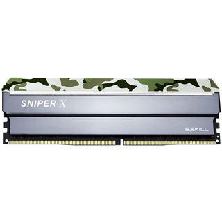 64GB G.Skill SniperX Classic Camouflage DDR4-3000 DIMM CL16 Quad Kit