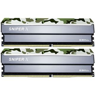 16GB G.Skill SniperX Classic Camouflage DDR4-3600 DIMM CL19 Dual Kit