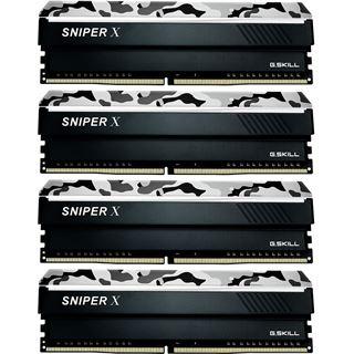 64GB G.Skill SniperX Urban Camouflage DDR4-3600 DIMM CL19 Quad Kit