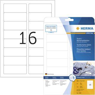 HERMA Namens-Etiketten SPECIAL, 88,9 x 33,8 mm, 160 Stück,