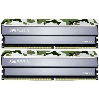 16GB G.Skill SniperX Classic Camouflage DDR4-3200 DIMM CL16 Dual Kit
